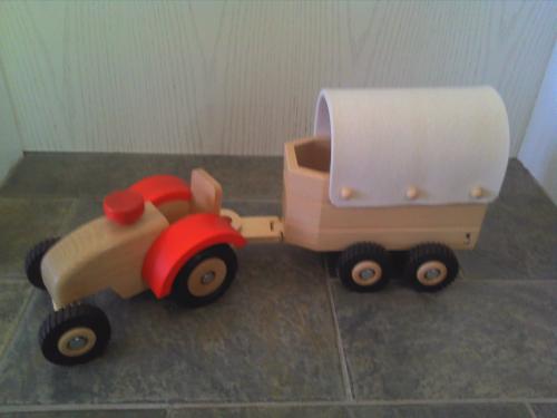 Ostheimer Traktor 5560040 Holzspielzeug